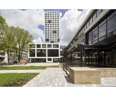 Oud Deltares-kantoor omgebouwd tot studentencampus TU Delft